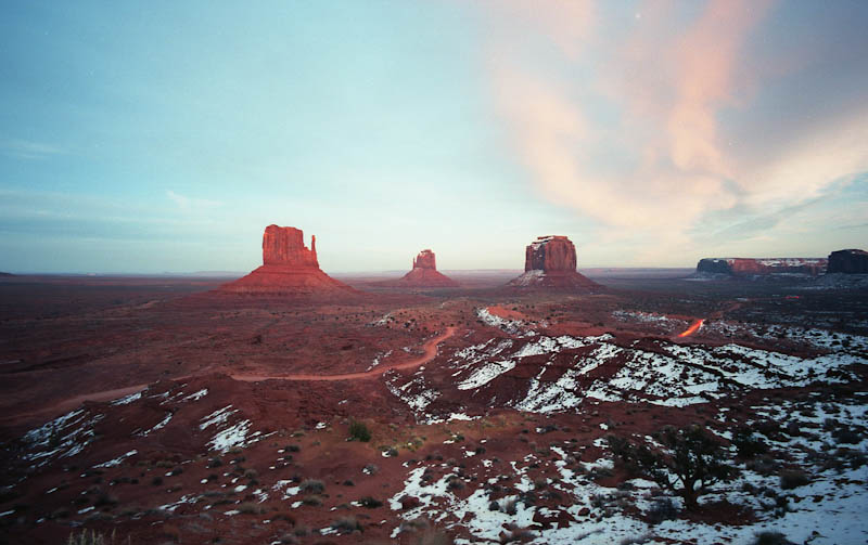 Monument Valley - Leica M2 - 15mm Voigtlander - Ektar 100