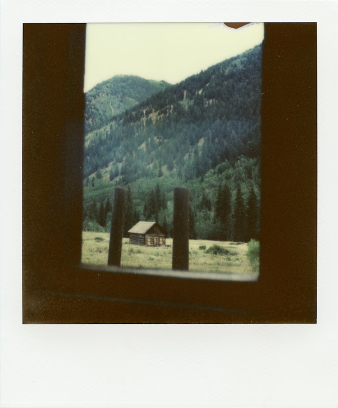 The view from Ashcroft Hotel - Impossible Project PX-70 COOL
