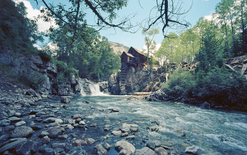 Crystal Mill - Colorado - Leica M2 - Voigtlander 15mm - Ektar 100