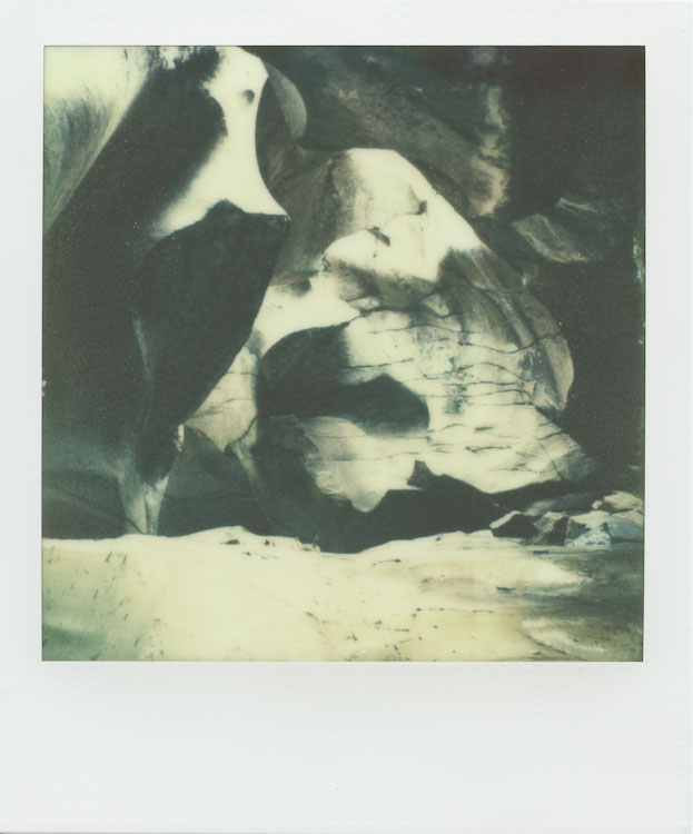 The Grottos - Ice Caves - Aspen, CO - Impossible Project PX-70 COOL