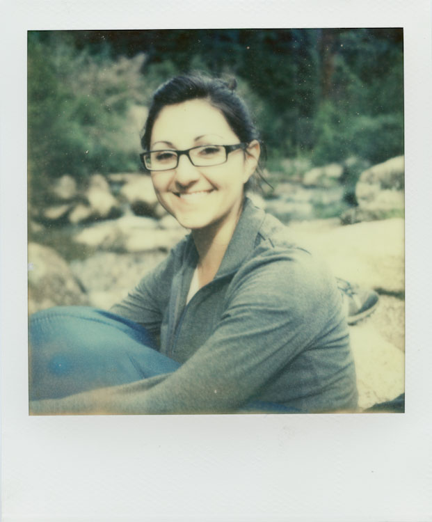 My Beautiful Wife @ The Grottos - Impossible Project PX-70 COOL
