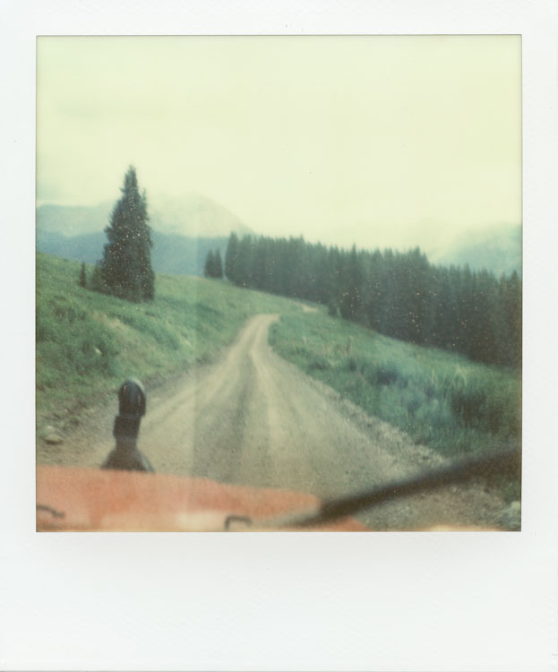 Cruisin' down Aspen Mountain - Impossible Project PX-70 COOL