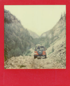 Lead King Basin Jeep Trail - Colorado - Impossible Project PX-70 Nigo Edition