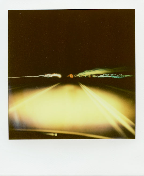 Cruisin' down 287 - Impossible Project PX-70 COOL