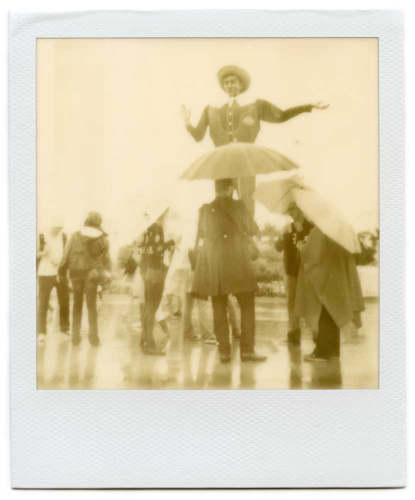 Photo: Amber Minnerick - Polaroid One Step - Impossible Project PX600 Old Gen